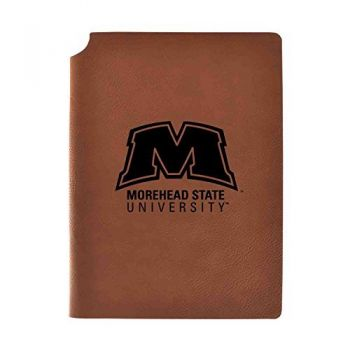 Morehead State University Velour Journal with Pen Holder|Carbon Etched|Officially Licensed Collegiate Journal|