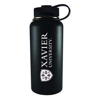 Xavier University-32 oz. Travel Tumbler-Black