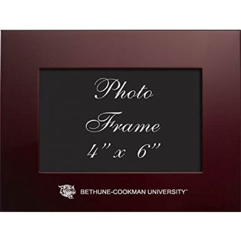 Bethune - 4x6 Brushed Metal Picture Frame - Burgundy