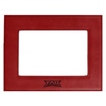 Florida Atlantic University-Velour Picture Frame 4x6-Red