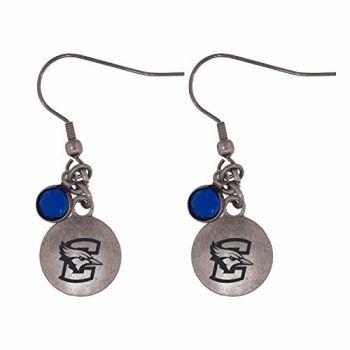 Creighton University-Frankie Tyler Charmed Earrings