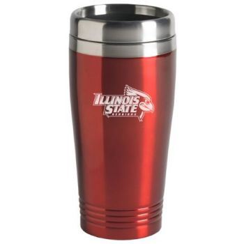 Illinois State University - 16-ounce Travel Mug Tumbler - Red