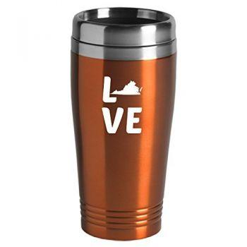 16 oz Stainless Steel Insulated Tumbler - Virginia Love - Virginia Love
