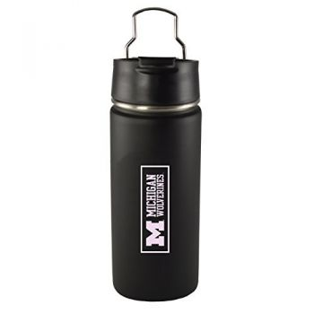 University of Michigan -20 oz. Travel Tumbler-Black
