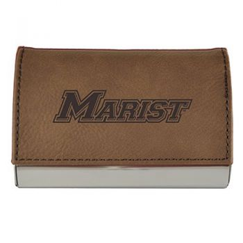 Velour Business Cardholder-Marist College-Brown