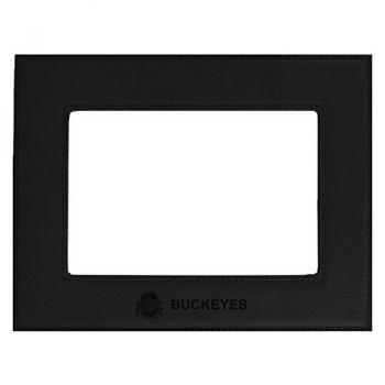 Ohio State University-Velour Picture Frame 4x6-Black