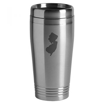 16 oz Stainless Steel Insulated Tumbler - I Heart New Jersey - I Heart New Jersey