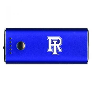 The University of Rhode Island -Portable Cell Phone 5200 mAh Power Bank Charger -Blue