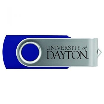 University of Dayton -8GB 2.0 USB Flash Drive-Blue