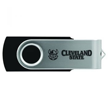 Cleveland State University -8GB 2.0 USB Flash Drive-Black
