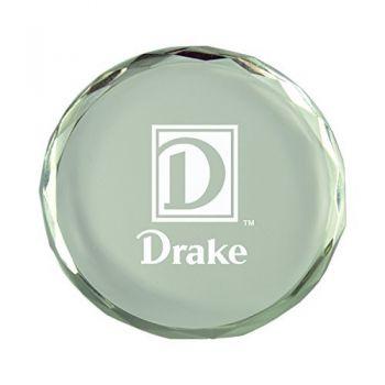 Drake University-Crystal Paper Weight