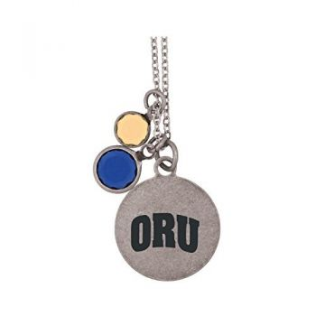 Oral Roberts University-Frankie Tyler by LXG Charmed Necklace
