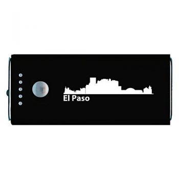 Quick Charge Portable Power Bank 5200 mAh - El Paso City Skyline