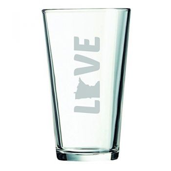 16 oz Pint Glass  - Minnesota Love - Minnesota Love