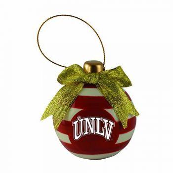 University of Nevada Las Vegas-Christmas Bulb Ornament