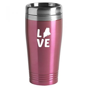 16 oz Stainless Steel Insulated Tumbler - Maine Love - Maine Love