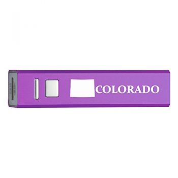 Colorado-State Outline-Portable 2600 mAh Cell Phone Charger-