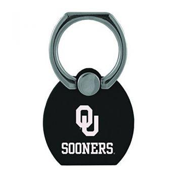 University of Oklahoma|Multi-Functional Phone Stand Tech Ring|Black