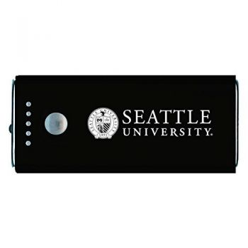 Seattle University -Portable Cell Phone 5200 mAh Power Bank Charger -Black