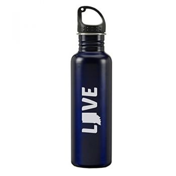 24 oz Reusable Water Bottle - Indiana Love - Indiana Love