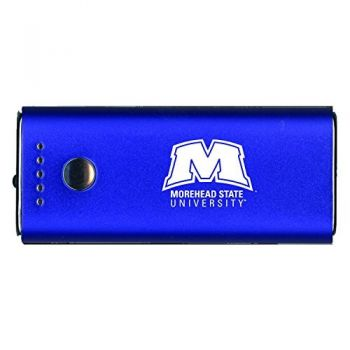 Morehead State University -Portable Cell Phone 5200 mAh Power Bank Charger -Blue
