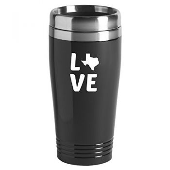 16 oz Stainless Steel Insulated Tumbler - Texas Love - Texas Love