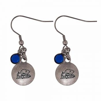 Bucknell University-Frankie Tyler Charmed Earrings
