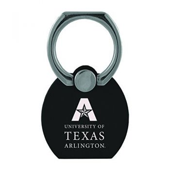 University of Texas at Arlington|Multi-Functional Phone Stand Tech Ring|Black