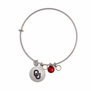 University of Oklahoma-Frankie Tyler Charmed Bracelet