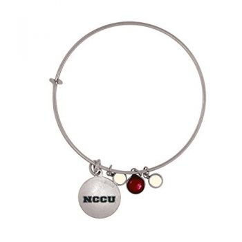 North Carolina Central University-Frankie Tyler Charmed Bracelet