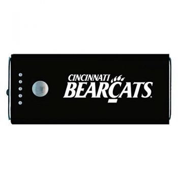 University of Cincinnati -Portable Cell Phone 5200 mAh Power Bank Charger -Black