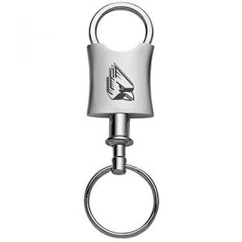 Ball State University-Trillium Valet Key Tag-Silver