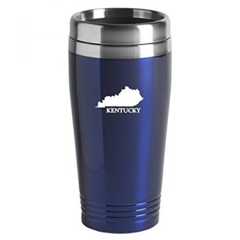 16 oz Stainless Steel Insulated Tumbler - Kentucky State Outline - Kentucky State Outline