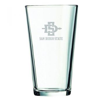 San Diego State University -16 oz. Pint Glass