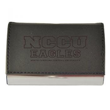 Velour Business Cardholder-North Carolina Central University-Black