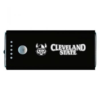 Cleveland State University -Portable Cell Phone 5200 mAh Power Bank Charger -Black