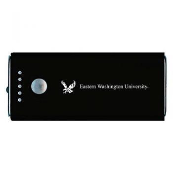 Eastern Washington University -Portable Cell Phone 5200 mAh Power Bank Charger -Black