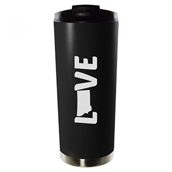 16 oz Vacuum Insulated Tumbler with Lid - Montana Love - Montana Love