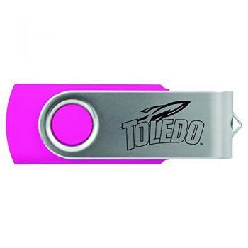 University of Toledo -8GB 2.0 USB Flash Drive-Pink