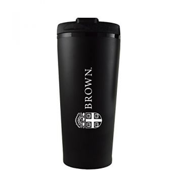 Brown University -16 oz. Travel Mug Tumbler-Black