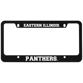 Eastern Illinois University -Metal License Plate Frame-Black