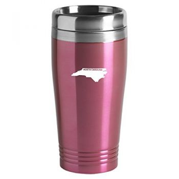 16 oz Stainless Steel Insulated Tumbler - North Carolina State Outline - North Carolina State Outline