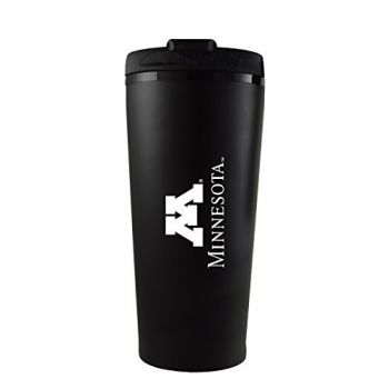 University of Minnesota -16 oz. Travel Mug Tumbler-Black