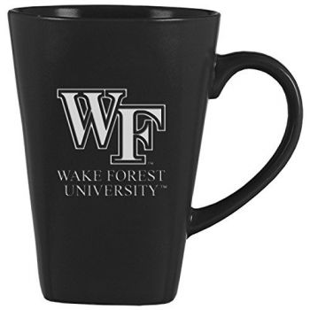 Wake Forest University -14 oz. Ceramic Coffee Mug-Black