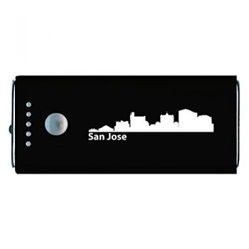 Quick Charge Portable Power Bank 5200 mAh - San Jose City Skyline