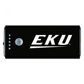 Eastern Kentucky University -Portable Cell Phone 5200 mAh Power Bank Charger -Black
