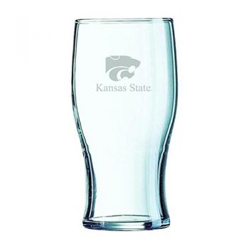 Kansas State University-Irish Pub Glass
