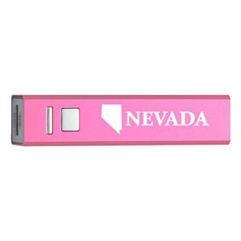 Nevada-State Outline-Portable 2600 mAh Cell Phone Charger-