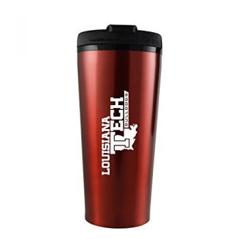 Louisiana Tech University -16 oz. Travel Mug Tumbler-Red