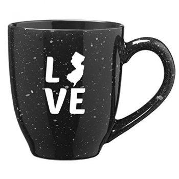 16 oz Ceramic Coffee Mug with Handle - New Jersey Love - New Jersey Love